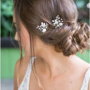 brides&hairpins Aurora 2-piece hair pin Set